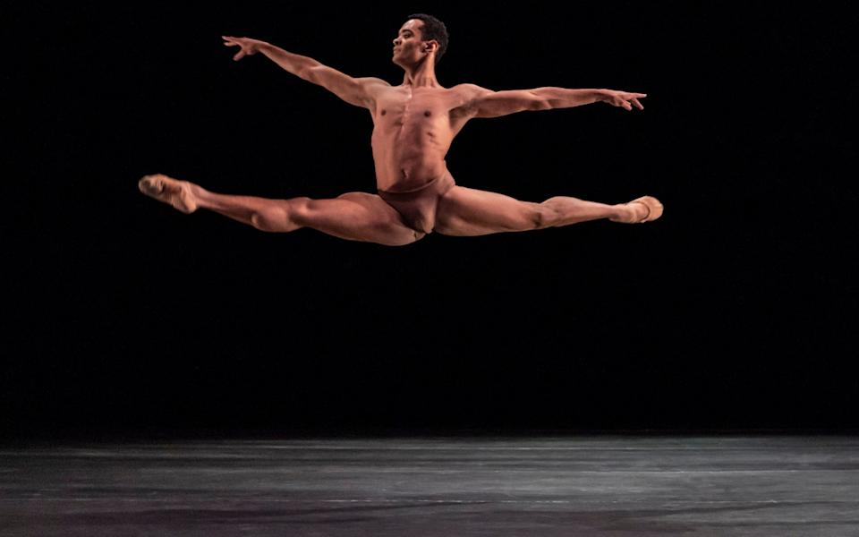 Brandon Lawrence of BRB in Liebestod at Sadler's Wells - Johan Persson