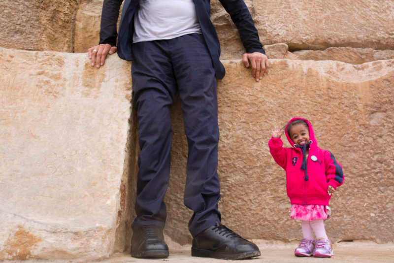 Egypt Welcomes World's Tallest Man And Shortest Woman