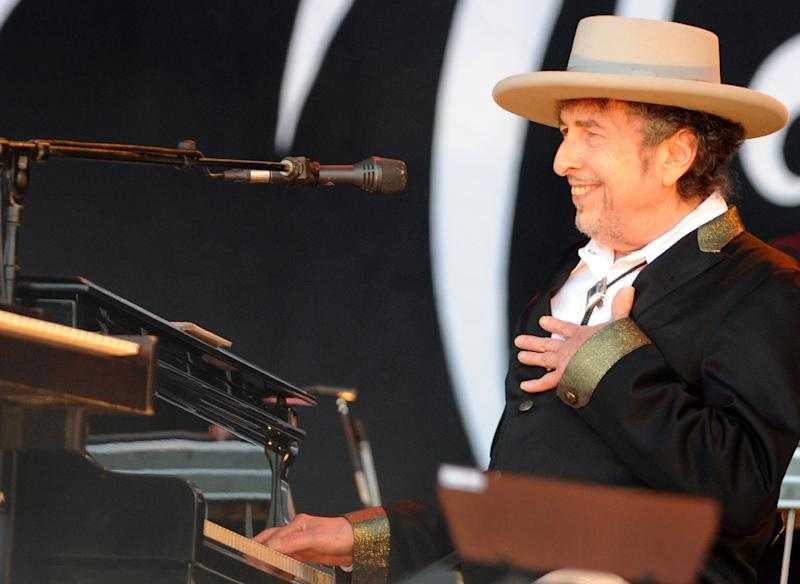 Bob Dylan, pictured in 2012, plans a tour of Europe in April and May of 2017 and was recently announced as a headliner of the Firefly festival to take place in the eastern US state of Delaware