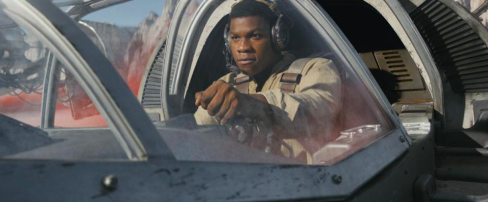 <p>Although he doesn't spend the whole movie in the medical bay: once he regains consciousness, Finn becomes a reluctant hero of the Resistance. <br>(Credit: Lucasfilm) </p>