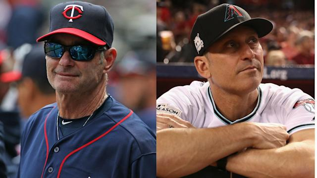 Paul Molitor and Torey Lovullo were named Managers of the Year in MLB.