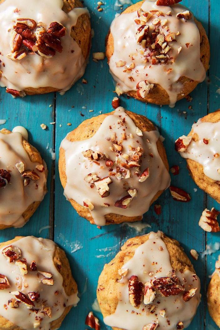 """<p>Your new fall staple. </p><p>Get the recipe from <a href=""""https://www.delish.com/holiday-recipes/thanksgiving/a22655211/sweet-potato-cookies-recipe/"""" rel=""""nofollow noopener"""" target=""""_blank"""" data-ylk=""""slk:Delish"""" class=""""link rapid-noclick-resp"""">Delish</a>. </p>"""