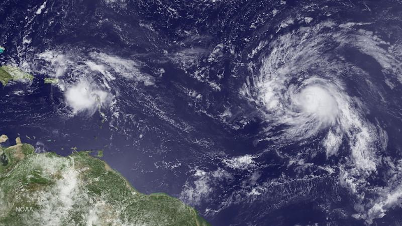 Tropical System Gains a Little Organization