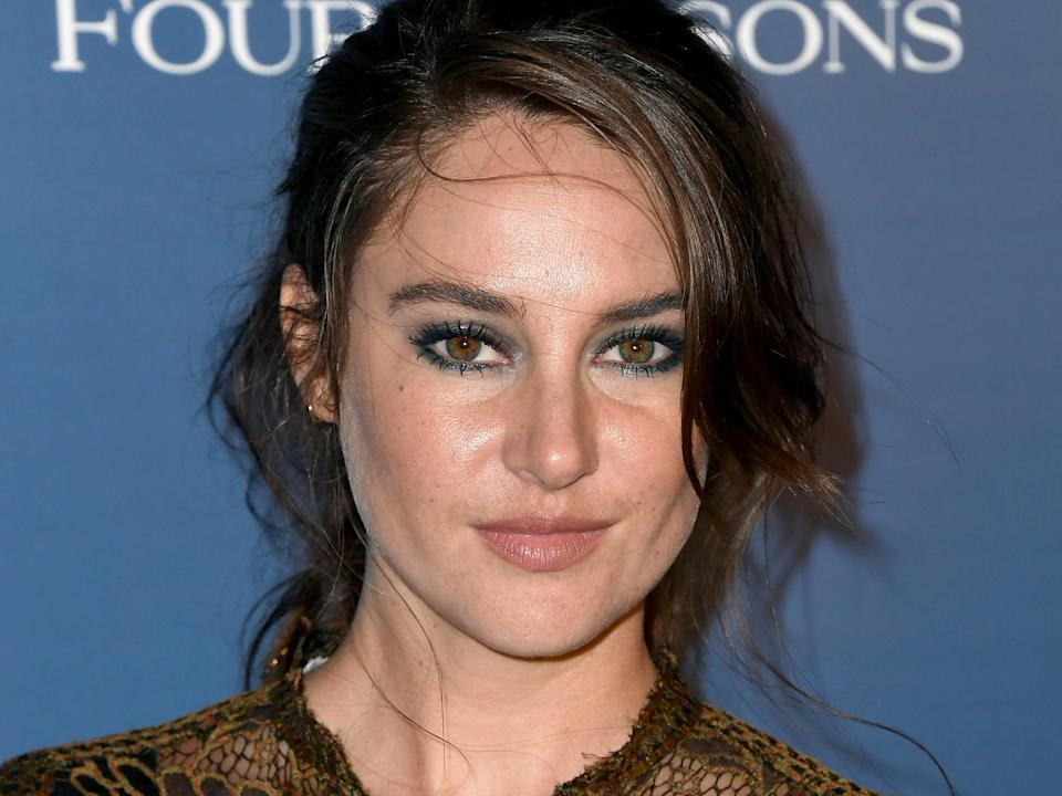 Shailene Woodley called her health concern an 'invisible pain' (Getty Images)