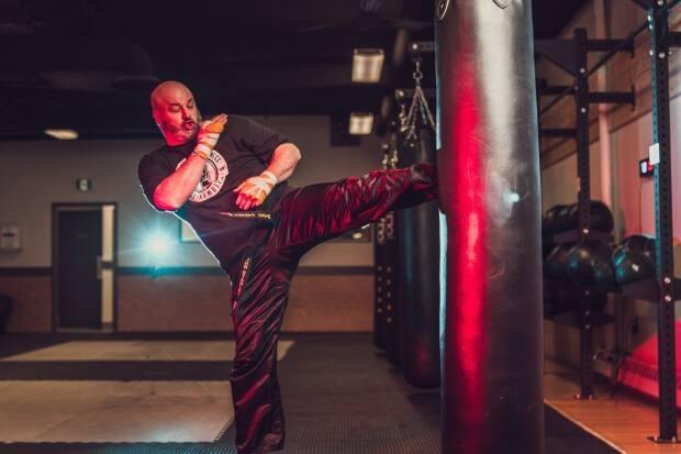John Stanley has been coaching kickboxing for the last 11 years at his gym Stanley Boxing and Fitness.