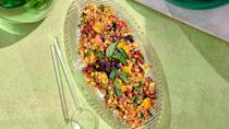 """<a href=""""https://www.bonappetit.com/recipe/corn-plum-and-farro-salad-with-nuoc-cham-dressing?mbid=synd_yahoo_rss"""" rel=""""nofollow noopener"""" target=""""_blank"""" data-ylk=""""slk:See recipe."""" class=""""link rapid-noclick-resp"""">See recipe.</a>"""