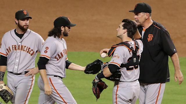 Despite a 12-inning win Friday, Giants fans are incredulous after Bruce Bochy's head-scratching decision involving Santiago Casilla.