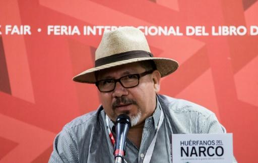 Mexican journalist Javier Valdez was gunned down in broad daylight near his newspaper's offices on May 15, 2017