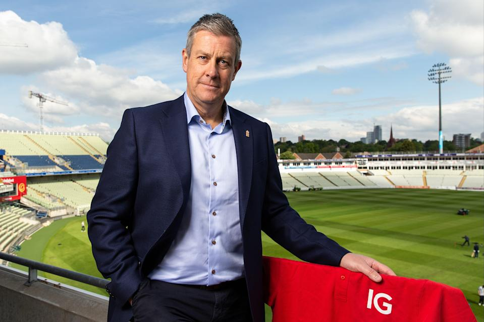 Ashley Giles at Edgbaston (Getty Images for IG)
