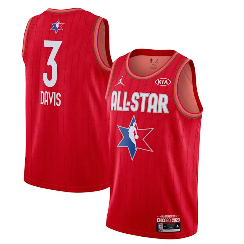 Davis Jordan Brand 2020 NBA All-Star Game Jersey