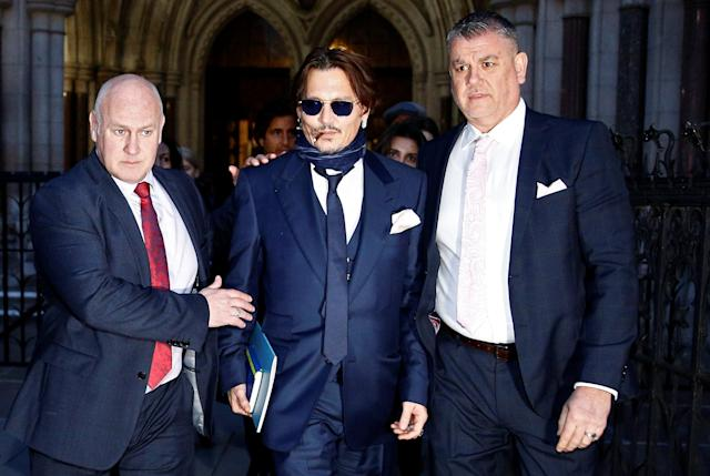 """Johnny Depp's libel trial against the <em>Sun</em> over """"wife beater"""" claim delayed due to COVID-19. (Photo: Reuters)"""