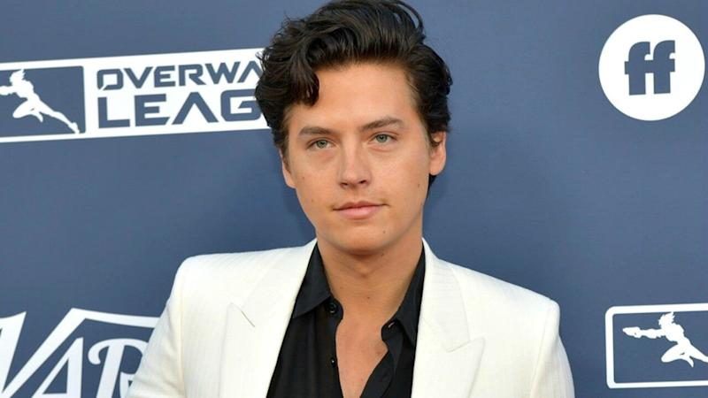 Cole Sprouse Takes a Seat on the Iconic 'Friends' Couch Ahead of 25th Anniversary