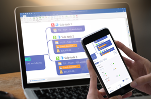 Narrow in on key topics with powerful filter and search capabilities, now with multi-user MindManager Snap support. Available for iOS and Android.