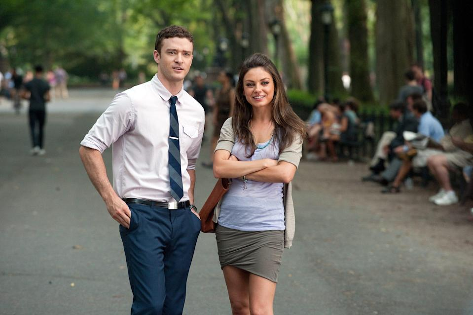 "Justin Timberlake and Mila Kunis star as pals who decide to try out some casual sex in their relationship in the romantic comedy ""Friends With Benefits."""
