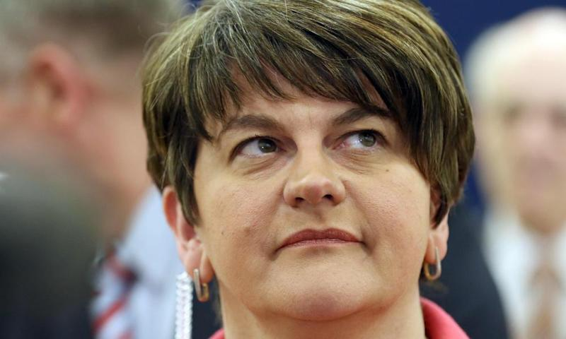 Arlene Foster, the DUP leader, would stand down.