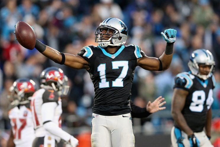 Can Devin Funchess overtake Kelvin Benjamin as Carolina's No. 1 WR? (Getty)