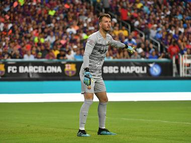 LaLiga: Barcelona goalkeeper Neto to undergo surgery after injuring left wrist, could miss season-opener against Athletic Bilbao