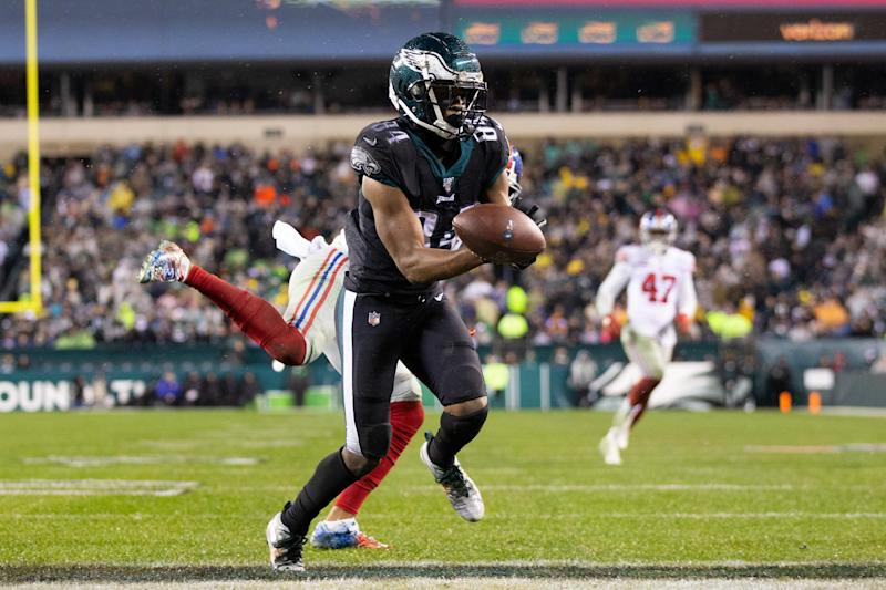 Can Greg Ward (84) and the Philadelphia Eagles' weapons create enough big plays to go on a deep playoff run? (Bill Streicher-USA TODAY Sports)