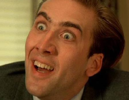 """<p>After an encounter with a 'neck-biter,' a high-powered publishing executive (Nicholas Cage) thinks he's turning into a vampire. And so this weird tale plays out in """"Vampire's Kiss"""" (1988), with Cage's character turning into a plastic fang wearing killer who sleeps under his over-turned couch. Riveting.</p>"""
