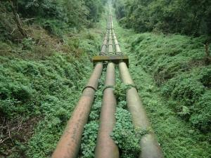 Giant pipes