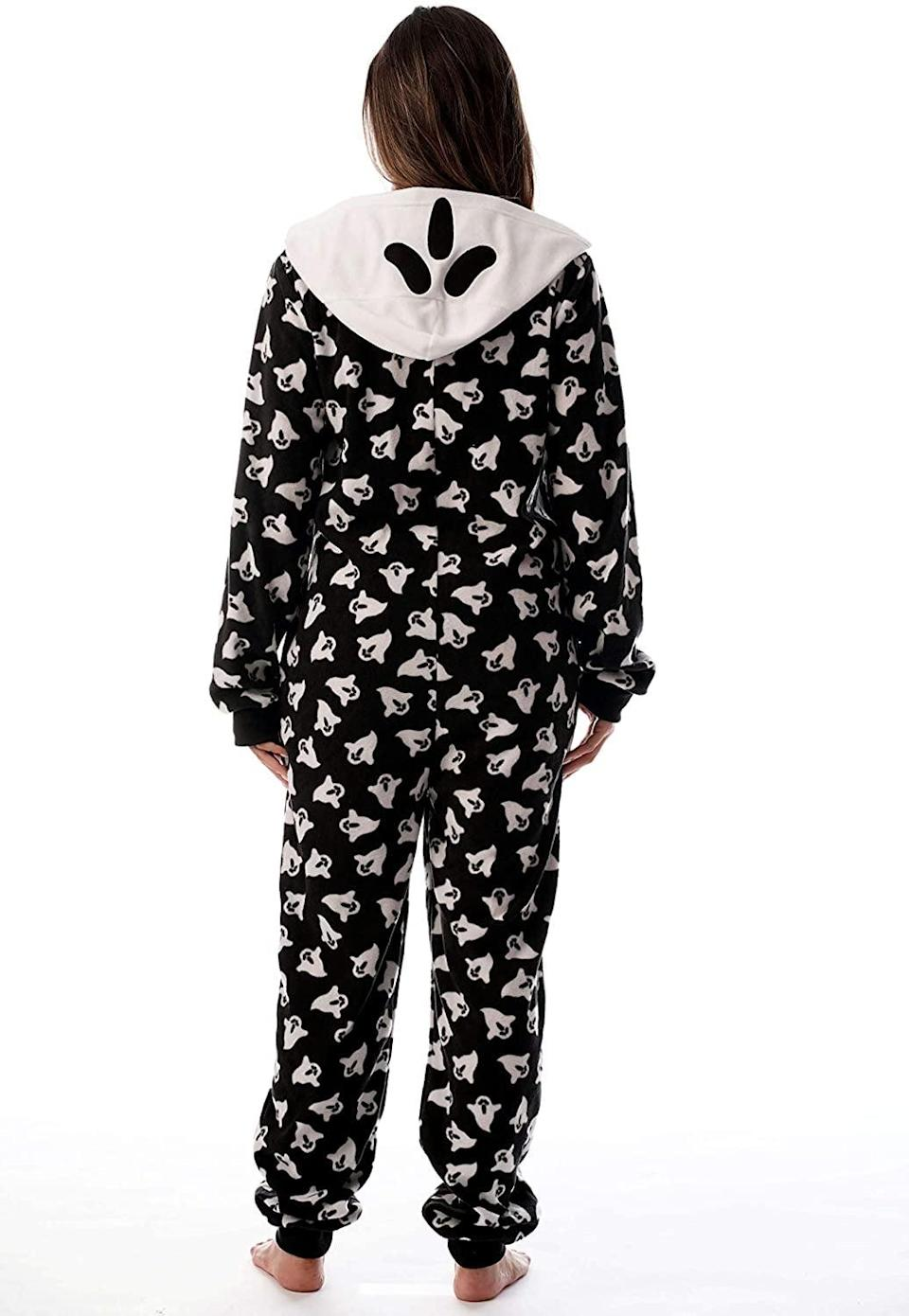 <p>This <span>Just Love Adult Onesie Pajamas</span> ($34) has a ghost hood, how cool is that?! The onesie is such a mood for a comfy fall vibe. </p>