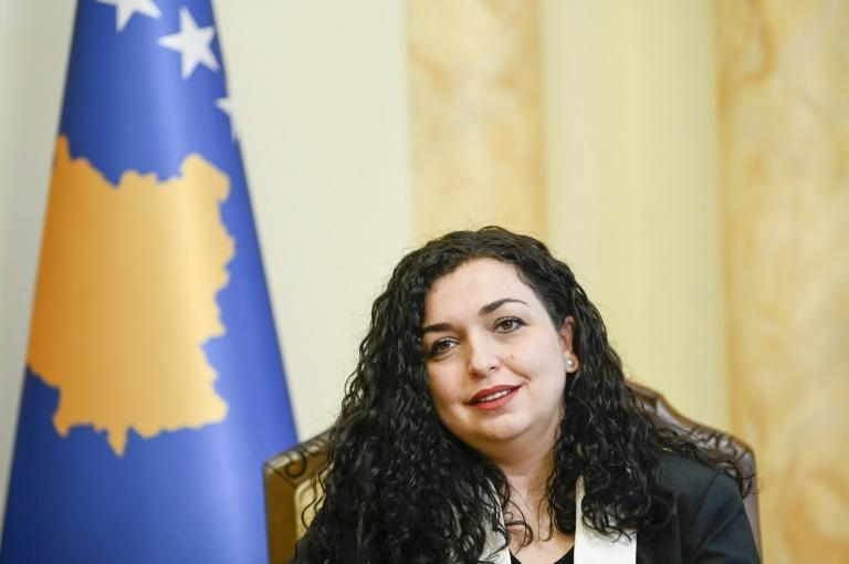 Acting President Vjosa Osmani, 38, is one of Kosovo's most popular politicians