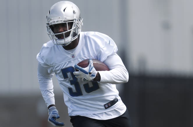 Fantasy owners seeking RB value in the middle rounds should chase down Lions rookie Kerryon Johnson. (AP)