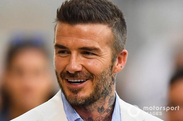 "David Beckham <span class=""copyright"">Simon Galloway / Motorsport Images</span>"