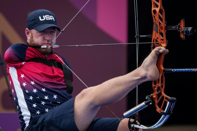 'Armless archer' Matt Stutzman is one of the world's most recognisable Paralympians (AFP/Yasuyoshi CHIBA)