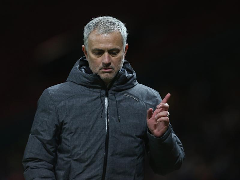 Jose Mourinho's back three looks set to stay for the time being: Getty