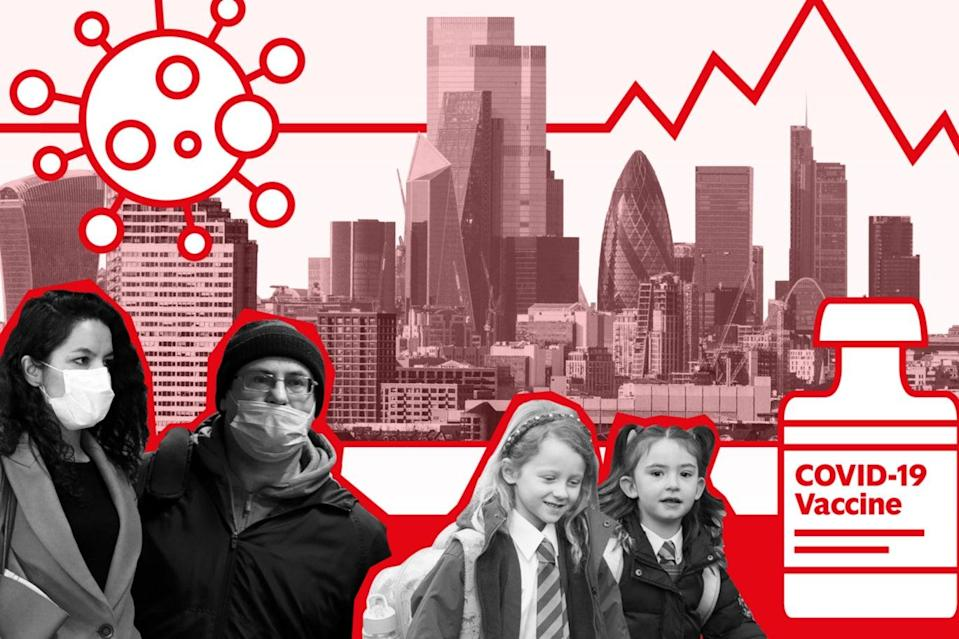 <p>London's seven-day rate has fallen to 83.3 new infections per 100,000</p> (Evening Standard)