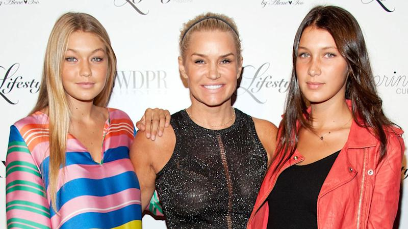 Image result for yolanda hadid and bella
