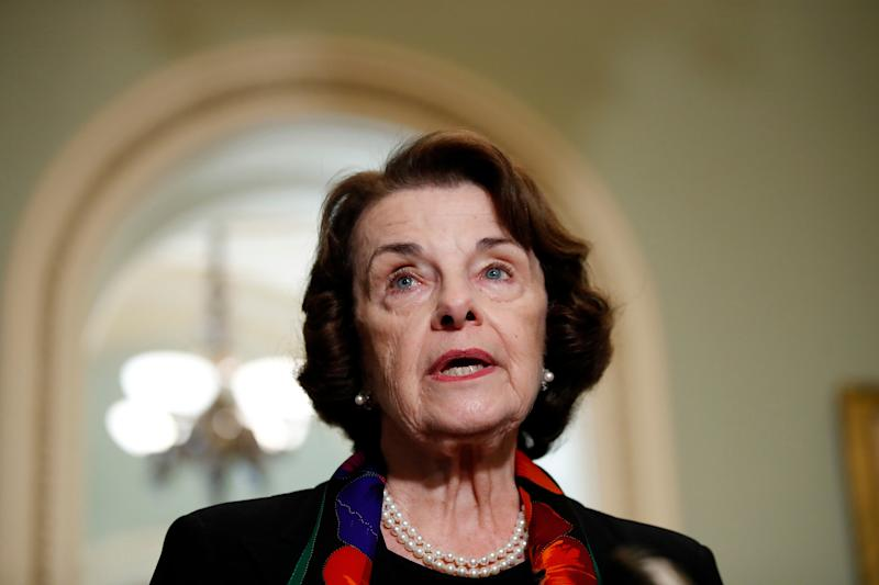 Sen. Dianne Feinstein Releases Statement About Interaction With Green New Deal Kids