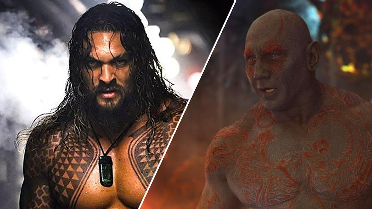 "<p>Before he signed up to play Aquaman in the DC universe, Jason Momoa was <a rel=""nofollow"" href=""https://www.hollywoodreporter.com/heat-vision/marvel-signs-wwes-dave-bautista-428724"">in the frame</a> to play <em>Guardians of the Galaxy</em> heavy Drax. Isaiah Mustafa, of Old Spice ad fame, was also reportedly considered as was Brian Patrick Wade, who later went on to play a role in <em>Agents of S.H.I.E.L.D.</em> </p>"