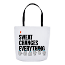 """<p>womenshealthmag.com</p><p><strong>$28.00</strong></p><p><a href=""""https://shop.womenshealthmag.com/sweat-changes-everything-tote.html"""" rel=""""nofollow noopener"""" target=""""_blank"""" data-ylk=""""slk:Shop Now"""" class=""""link rapid-noclick-resp"""">Shop Now</a></p><p>If your bestie doubles as your workout buddy, gift this tote as an ode to all those cycling sessions you've been through together. Fill it with some <a href=""""https://www.amazon.com/Viajero-Pilates-Portable-Workout-Book/dp/B08B678CPY/ref=sr_1_6?crid=15O3E47P2BD1N&dchild=1&keywords=home+workout+equipment&qid=1629822027&sprefix=home+workout%2Caps%2C172&sr=8-6&tag=syn-yahoo-20&ascsubtag=%5Bartid%7C2140.g.29003608%5Bsrc%7Cyahoo-us"""" rel=""""nofollow noopener"""" target=""""_blank"""" data-ylk=""""slk:at-home workout gear"""" class=""""link rapid-noclick-resp"""">at-home workout gear</a> (or <a href=""""https://www.womenshealthmag.com/weight-loss/a19959160/best-healthy-snacks-for-weight-loss/"""" rel=""""nofollow noopener"""" target=""""_blank"""" data-ylk=""""slk:snacks"""" class=""""link rapid-noclick-resp"""">snacks</a>).</p>"""
