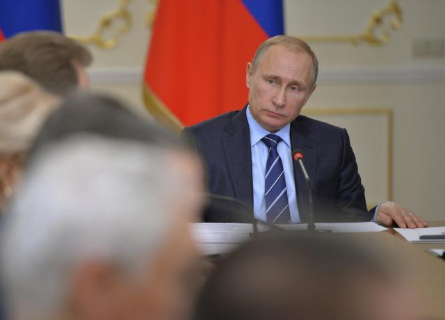 Vladmir Putin is pictured here in 2015. (REUTERS/Alexei Druzhinin/RIA Novosti/Kremlin)