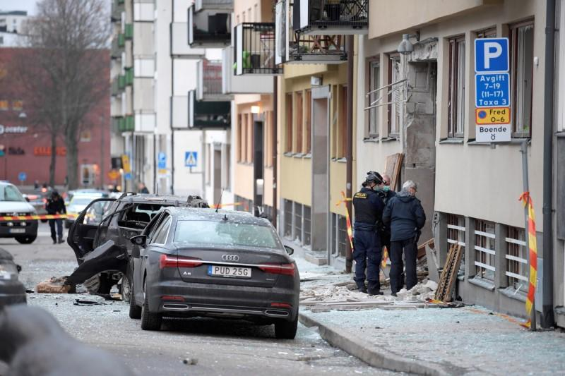 Sweden suffers surge in bomb attacks as gang violence rises