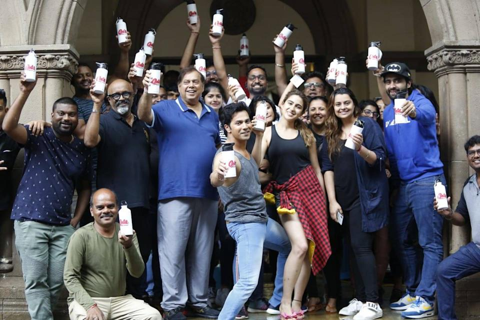 Varun Dhawan and Sara Ali Khan's film 'Coolie No.1' is the first film set  to go plastic-free! | Hindi Movie News - Times of India