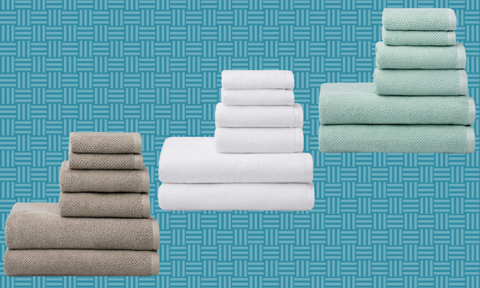 Get 100 percent cotton towels for 30 percent off today. (Photo: Amazon)