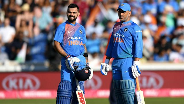 A tweet from Virat Kohli led many to believe MS Dhoni was set to retire, but India's captain insists that was not his intention.