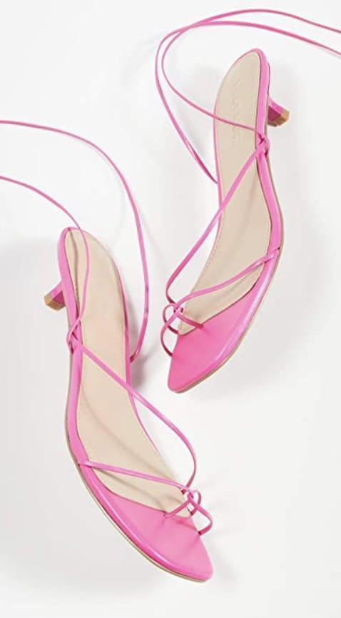 <p>You can't say summer without these trendy, strappy <span>Villa Rouge River Sandals</span> ($27).</p>