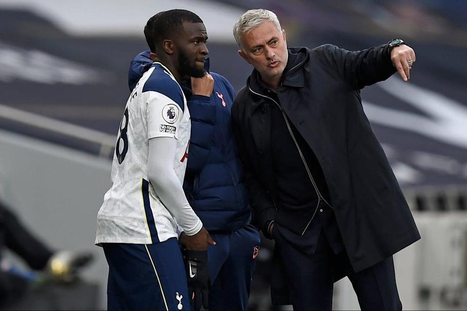 Jose Mourinho made concessions for Tanguy  Ndombele (POOL/AFP via Getty Images)