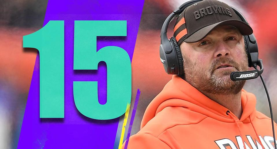 <p>Freddie Kitchens did a very good job at offensive coordinator after Todd Haley was fired, but is making Kitchens the head coach the right move? (Freddie Kitchens) </p>