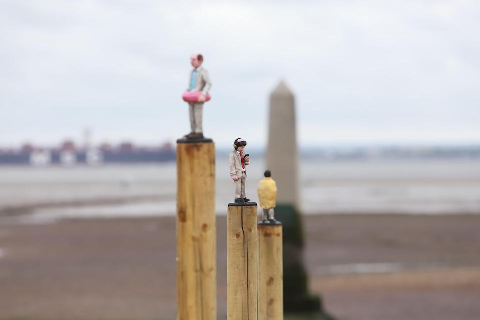 Waiting For Climate Change by Isaac Cordal (Mark Massey)