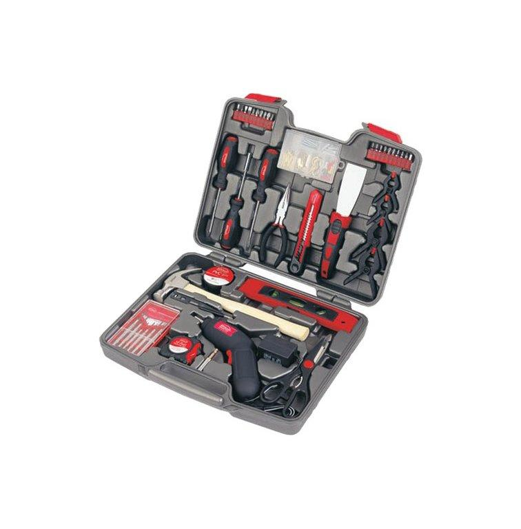 """<p>A thorough 144-piece kit, complete with chrome-plated tools, will help him tackle that never-ending list of household projects. Inside, he'll find a hammer, wrench, pliers, screwdriver, scissors, Allen wrench set, measuring tape, and, well, basically anything else he could ever need—all for less than $50.</p> <p><strong>To buy:</strong> $33, <a href=""""http://goto.target.com/c/249354/81938/2092?subId1=RS%2CBestChristmasGiftsforDadin2019%2Cnorlingh%2CGIF%2CGAL%2C564952%2C201910%2CI&u=https%3A%2F%2Fwww.target.com%2Fp%2Fapollo-144-45-pc-46-house-do-45-it-45-yourself-kit-with-4-46-8v-screwdriver%2F-%2FA-10828838%3Flnk%3Drec%257Cadaptpdpexsrch%257Crelated_prods_vv%257Cadaptpdpexsrch%257C10828838%257C4"""" target=""""_blank"""">target.com</a>.</p>"""