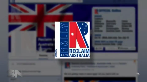 The Reclaim Australia Facebook page has more than 32,000 fans