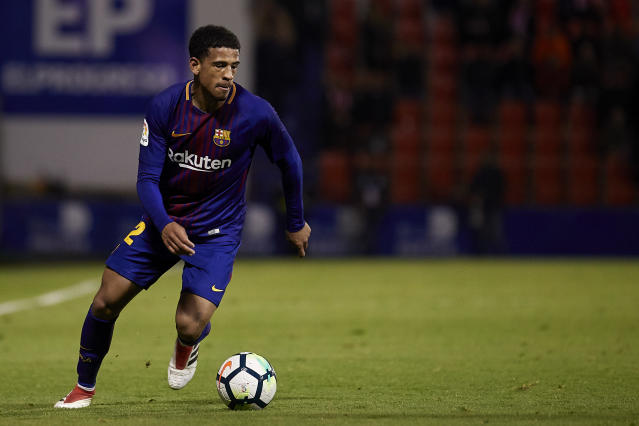 Englishman Marcus McGuane made his debut for Barcelona this week