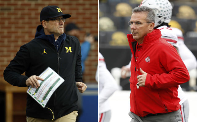 Will Michigan's late-season clash with rival Ohio State decide who wins the Big Ten East? (AP)