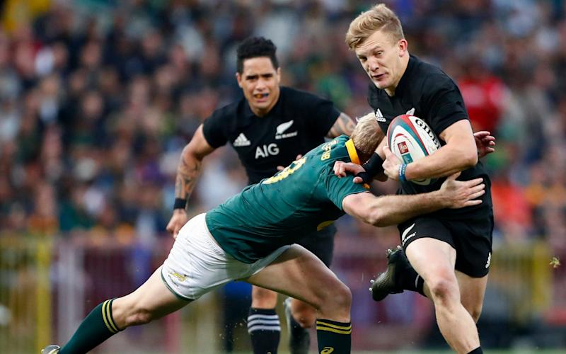 Damian McKenzie's late try was the difference at Newlands - EPA