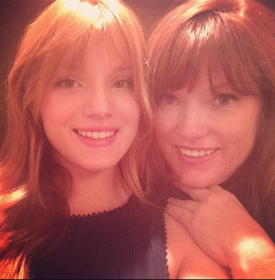 "<a href=""https://www.facebook.com/bellathorne"" target=""_blank"">BELLA THORNE and mom Tamara Thorne </a><br />My mom and I are very close, she's my best friend. Since my dad passed, my mom has had the job of both parents and I am so grateful for her. I've learned strength and determination from her and I love her very much."